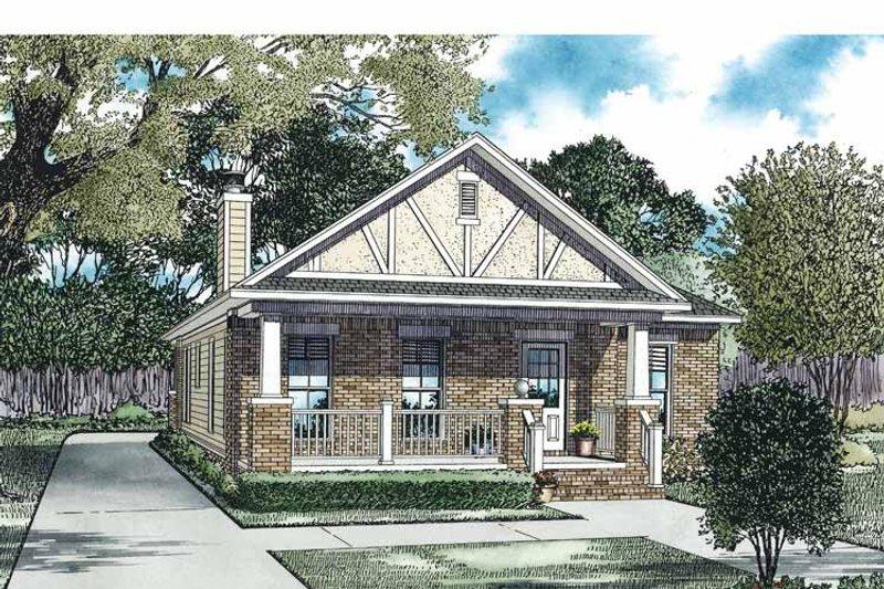 Craftsman Exterior - Front Elevation Plan #17-3361 - Houseplans.com