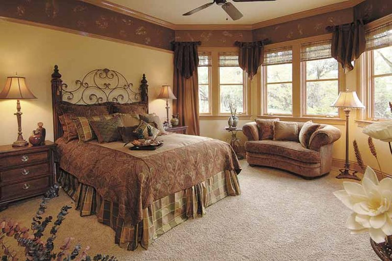 Country Interior - Master Bedroom Plan #930-331 - Houseplans.com