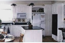 Architectural House Design - Traditional Interior - Kitchen Plan #314-275