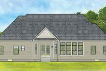 Home Plan - Ranch Exterior - Rear Elevation Plan #1010-187