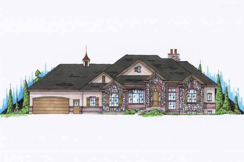House Design - European Exterior - Front Elevation Plan #945-123
