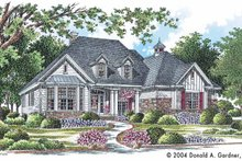 House Plan Design - Country Exterior - Front Elevation Plan #929-610