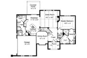 Traditional Style House Plan - 4 Beds 2.5 Baths 2824 Sq/Ft Plan #46-401 Floor Plan - Main Floor Plan