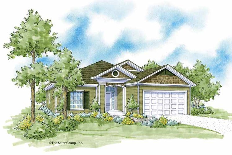 Country Exterior - Front Elevation Plan #930-369 - Houseplans.com