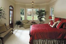 House Plan Design - Country Interior - Master Bedroom Plan #929-678