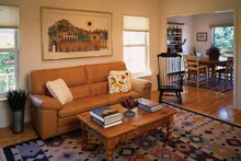 Country Interior - Family Room Plan #314-201