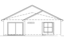 Home Plan - Mediterranean Exterior - Rear Elevation Plan #417-731