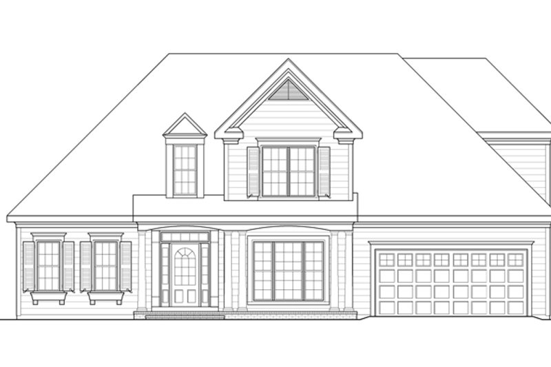 Country Exterior - Front Elevation Plan #927-468 - Houseplans.com