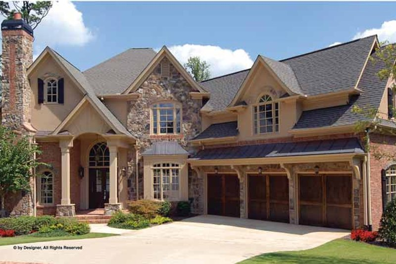 Traditional Exterior - Front Elevation Plan #54-339 - Houseplans.com