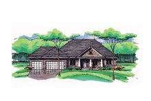 House Plan Design - European Exterior - Front Elevation Plan #51-988