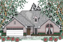 Traditional Exterior - Front Elevation Plan #42-722