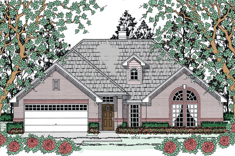 House Plan Design - Traditional Exterior - Front Elevation Plan #42-722