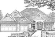 Traditional Style House Plan - 3 Beds 2.5 Baths 1900 Sq/Ft Plan #310-301 Exterior - Front Elevation
