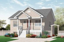 Home Plan - Country Exterior - Front Elevation Plan #23-2412