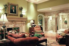 European Interior - Family Room Plan #46-775