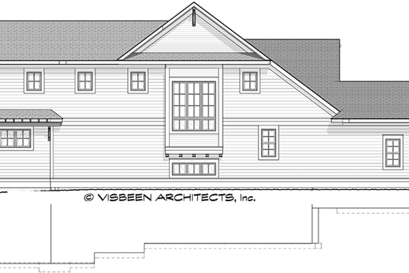 Traditional Exterior - Other Elevation Plan #928-286 - Houseplans.com