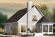 Traditional Style House Plan - 4 Beds 2.5 Baths 1811 Sq/Ft Plan #23-2610 Exterior - Rear Elevation