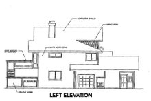 Home Plan - Craftsman Exterior - Other Elevation Plan #124-333