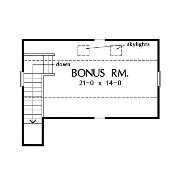 Country Floor Plan - Other Floor Plan Plan #929-961