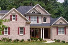 Colonial Exterior - Front Elevation Plan #927-606