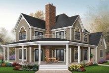 Farmhouse Exterior - Front Elevation Plan #23-519