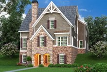 Architectural House Design - Traditional Exterior - Front Elevation Plan #419-234