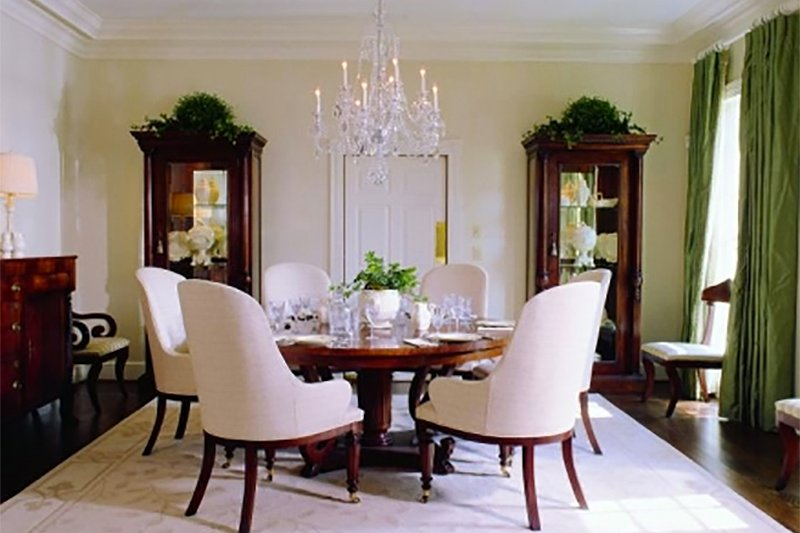 Colonial Interior - Dining Room Plan #137-230 - Houseplans.com