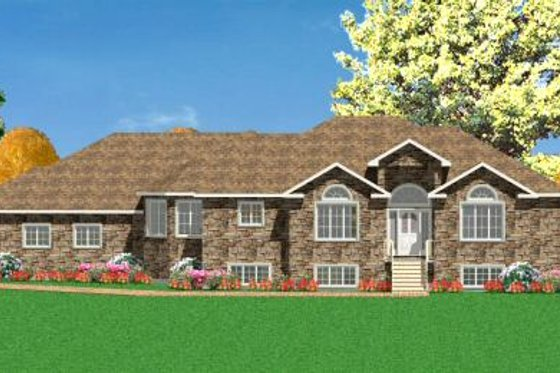 Traditional Exterior - Front Elevation Plan #414-118