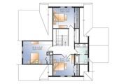 European Style House Plan - 4 Beds 3 Baths 2340 Sq/Ft Plan #23-2627 Floor Plan - Upper Floor Plan