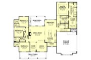 Farmhouse Style House Plan - 4 Beds 2.5 Baths 2686 Sq/Ft Plan #430-156 Floor Plan - Main Floor Plan