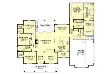 Farmhouse Floor Plan - Main Floor Plan Plan #430-156