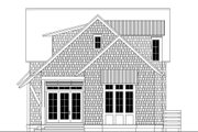 Beach Style House Plan - 4 Beds 4.5 Baths 2799 Sq/Ft Plan #443-14 Exterior - Rear Elevation