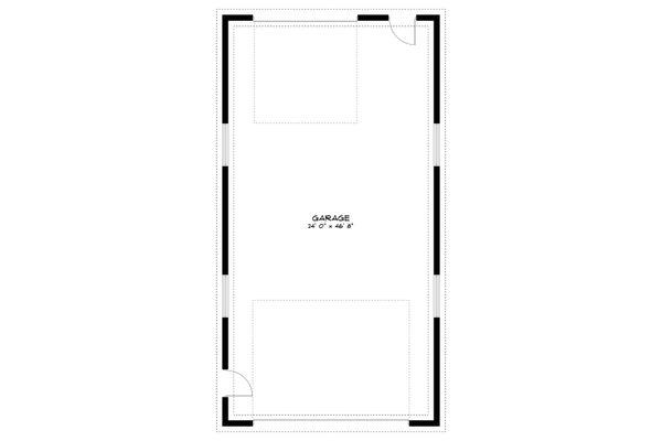 Dream House Plan - Traditional Floor Plan - Main Floor Plan #1060-88