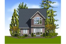 Craftsman Exterior - Rear Elevation Plan #48-264
