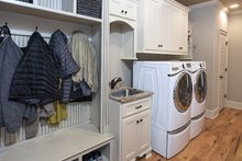 Dream House Plan - Traditional Interior - Laundry Plan #929-924