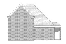 Country Exterior - Rear Elevation Plan #932-265