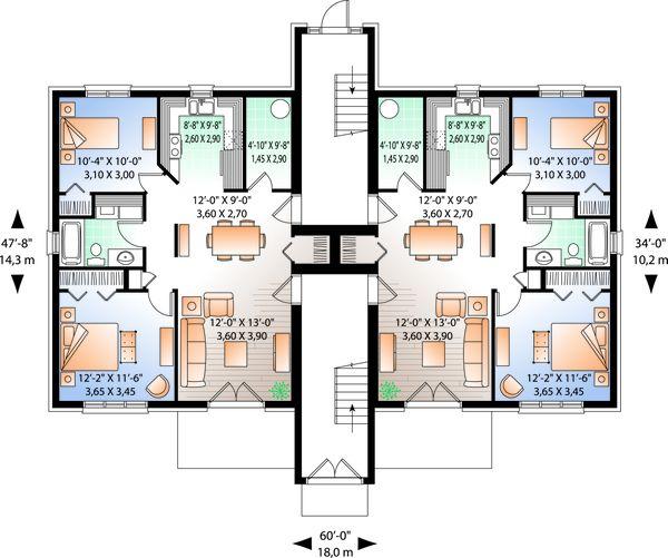 Dream House Plan - Traditional Floor Plan - Main Floor Plan #23-777