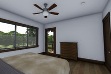 Ranch Interior - Bedroom Plan #1069-7