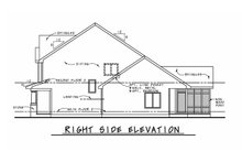 Architectural House Design - Craftsman Exterior - Other Elevation Plan #20-2420
