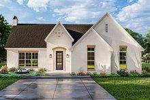 Dream House Plan - Cottage Exterior - Front Elevation Plan #406-9665