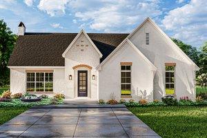 Cottage Exterior - Front Elevation Plan #406-9665