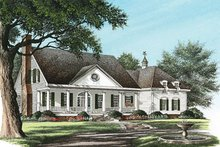 Home Plan - Southern Exterior - Front Elevation Plan #137-149
