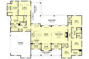 Farmhouse Style House Plan - 4 Beds 3.5 Baths 3076 Sq/Ft Plan #430-197 Floor Plan - Main Floor Plan