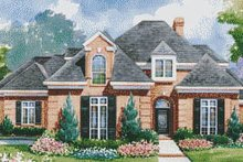 Home Plan - European Exterior - Front Elevation Plan #20-1195