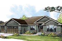 Dream House Plan - Craftsman Exterior - Front Elevation Plan #124-842