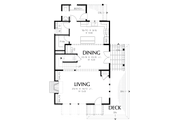 Colonial Style House Plan - 3 Beds 2.5 Baths 2313 Sq/Ft Plan #48-1008 Floor Plan - Main Floor