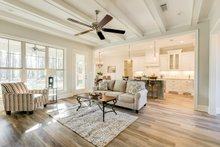 Traditional Interior - Family Room Plan #430-228