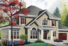 Dream House Plan - Traditional Exterior - Front Elevation Plan #23-371