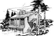 Modern Style House Plan - 3 Beds 2.5 Baths 3126 Sq/Ft Plan #303-255