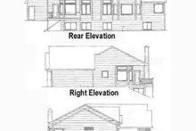 Home Plan - Craftsman Exterior - Rear Elevation Plan #58-180